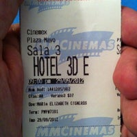 Photo taken at Cinemex by Antonio O. on 9/30/2012