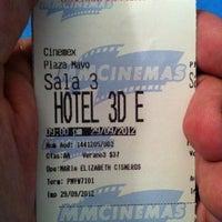 Photo taken at Cinemex by Antonio O. on 9/30/2012