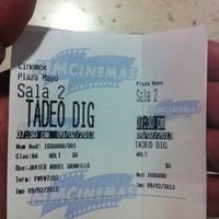 Photo taken at Cinemex by Antonio O. on 2/10/2013