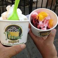 Photo taken at 1st Treat Yogurt by Debbie S. on 10/15/2013