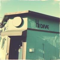 Photo taken at Hi Dive by Nick B. on 4/29/2013