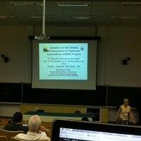 Photo taken at Instituto de Física Teórica da UNESP by Anderson C. on 11/1/2012