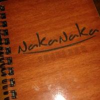 Photo taken at Naka Naka Sushi Bar by Heloisa S. on 6/4/2013