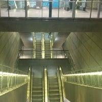 Photo taken at Kongens Nytorv st. (Metro) by Jess W. on 11/27/2012