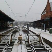 Photo taken at Helsingør Station by Jess W. on 3/13/2013