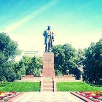 Снимок сделан в Парк им. Т. Г. Шевченко пользователем Maxim B. 7/30/2013
