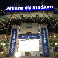 Photo taken at Allianz Stadium by Stiven C. on 10/11/2013