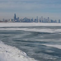 Photo taken at Chicago's Lakefront (Hyde Park) by Steven M. on 4/14/2014
