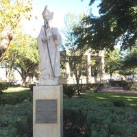 Photo taken at San Augustin Plaza by CentralTexas R. on 11/29/2014