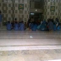 Photo taken at Masjid LIPI by Taufan A. on 8/18/2013