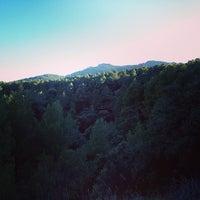 Photo taken at almonacid de la sierra by Javier B. on 3/16/2014