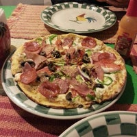 Photo taken at Pizzas Rustica by Jazmín G. on 2/9/2014