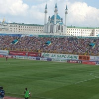 Photo taken at Central Stadium by Рушана on 8/4/2013