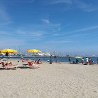Photo taken at Bagno La Piazzetta by Stefano S. on 8/30/2014