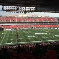 Photo taken at TD Place Stadium by Chris P. on 8/2/2014