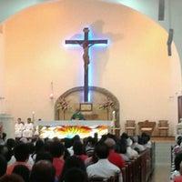 Photo taken at Assumption Church by Aloysius C. on 8/11/2013