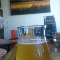Photo taken at Laughing Monk Brewing by Liz W. on 6/18/2017