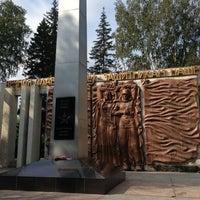 Photo taken at Памятник Участникам ВОВ by Яна🎶 on 8/16/2013