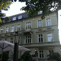 Photo taken at SORAT Hotel Cottbus by Mich L. on 8/29/2013