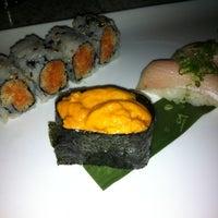 Photo taken at Mizu Japanese & Thai Cuisine by Erica R. on 12/13/2012