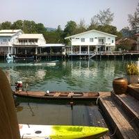Photo taken at Keereeta Lagoon, Koh Chang by Dmytro K. on 2/8/2015