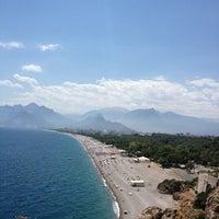 6/26/2013 tarihinde Levent C.ziyaretçi tarafından Konyaaltı Plajı'de çekilen fotoğraf