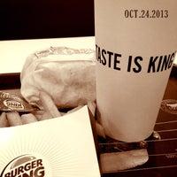 Photo taken at Burger King 漢堡王 by Gary B. on 10/24/2013
