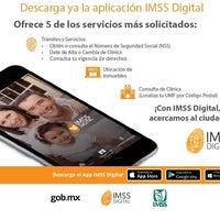 Photo taken at Subdelegación Hidalgo IMSS by ALaàn G. on 5/3/2017