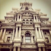 Photo taken at Philadelphia City Hall by Atsuya S. on 9/27/2012