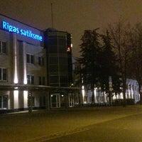 "Photo taken at RP SIA ""Rīgas satiksme"" administrācijas ēka by Iva . on 11/16/2014"