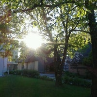 Photo taken at Caritas Familienhaus St. Christoph by Magda P. on 4/18/2014