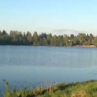 Photo taken at Озеро Сювеярви (Хиттоловское) by Ирина Т. on 5/22/2014