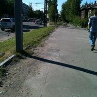 Photo taken at Остановка «Сорокская» by Yana P. on 6/21/2013