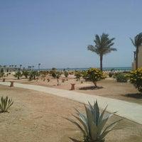 Photo taken at Sheraton Soma Bay Resort by Karim E. on 4/9/2015