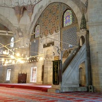 7/25/2013 tarihinde Murat O.ziyaretçi tarafından Üç Şerefeli Camii'de çekilen fotoğraf