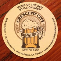 Photo taken at Crescent City Brewhouse by Polly H. on 6/15/2013