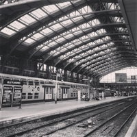 Photo taken at Station Gare Lille-Flandres ⓇⓉ by Nikita K. on 9/17/2014