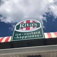 Photo taken at Rita's Italian Ice by Theresa on 6/15/2018