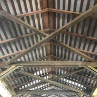 Photo taken at Bucher's Mill Covered Bridge by Theresa on 7/20/2017