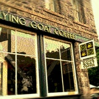 Photo taken at Flying Goat Coffee by Tabi D. on 9/12/2013