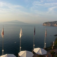 Photo taken at Europa Palace Grand Hotel Sorrento by Kevin C. on 6/17/2013