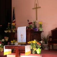 Photo taken at First Congregational Church by Matt H. on 7/8/2013