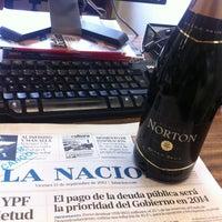 Photo taken at Diario La Nación by Willy C. on 9/13/2013