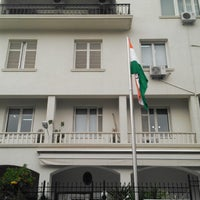 Photo taken at Embassy of India by Manos K. on 2/21/2014