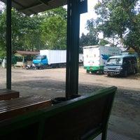Photo taken at Bandung Express Bus Terminal by Christian A. on 8/22/2016