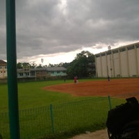 Photo taken at Lapangan Softball / Baseball Lodaya by Christian A. on 10/9/2016