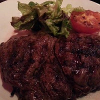Photo taken at Angus Steakhouse by Adelina G. on 1/21/2013