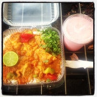 Photo taken at New Taste Of India by Food Carts 4 Charity on 9/9/2013