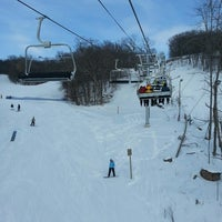 Photo taken at Devil's Head Ski Resort by Paul on 2/23/2013