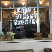 Photo taken at Court Street Grocers by Kayleigh H. on 11/16/2016